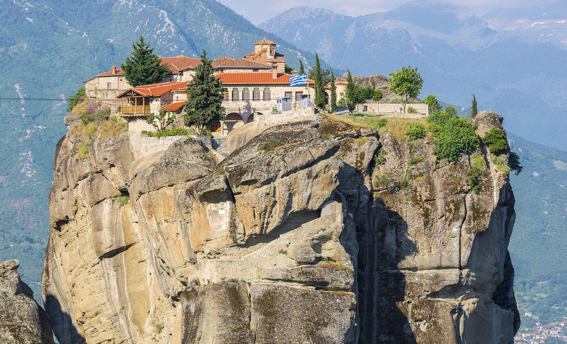 Meteora Klöster Karte.Kloster Agia Triada Infotourist Meteora
