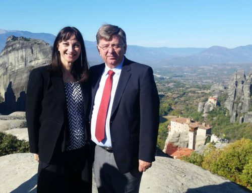 Επίσκεψη Κουντουρά σε Καλαμπάκα και Μετέωρα